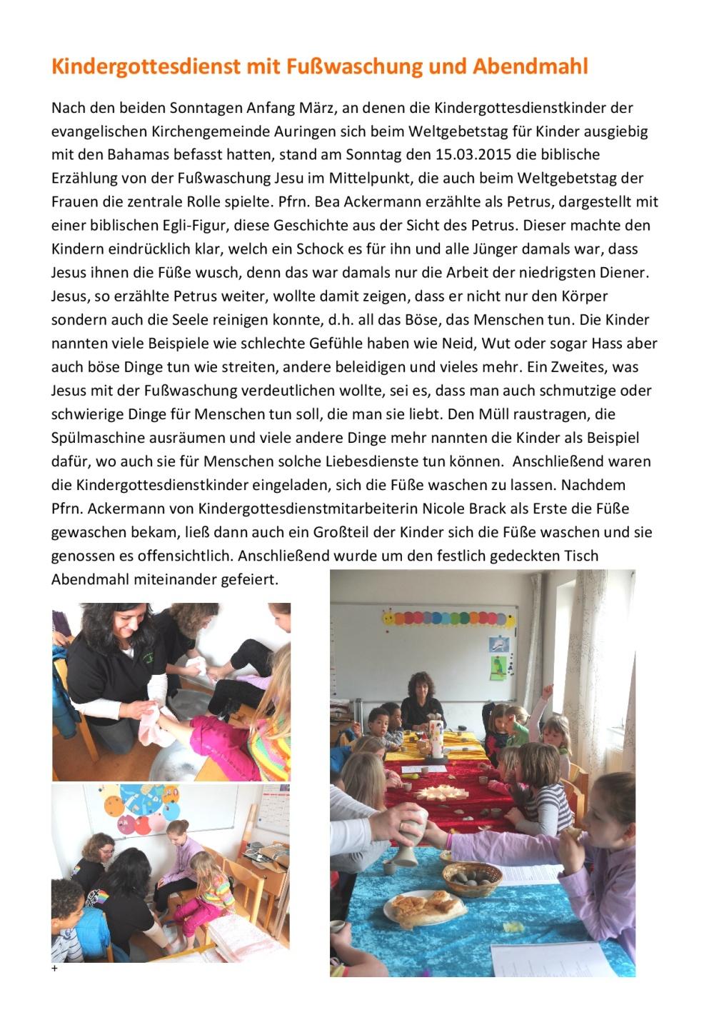 2015-03-15 Kindergottesdienst mit Fußwaschung