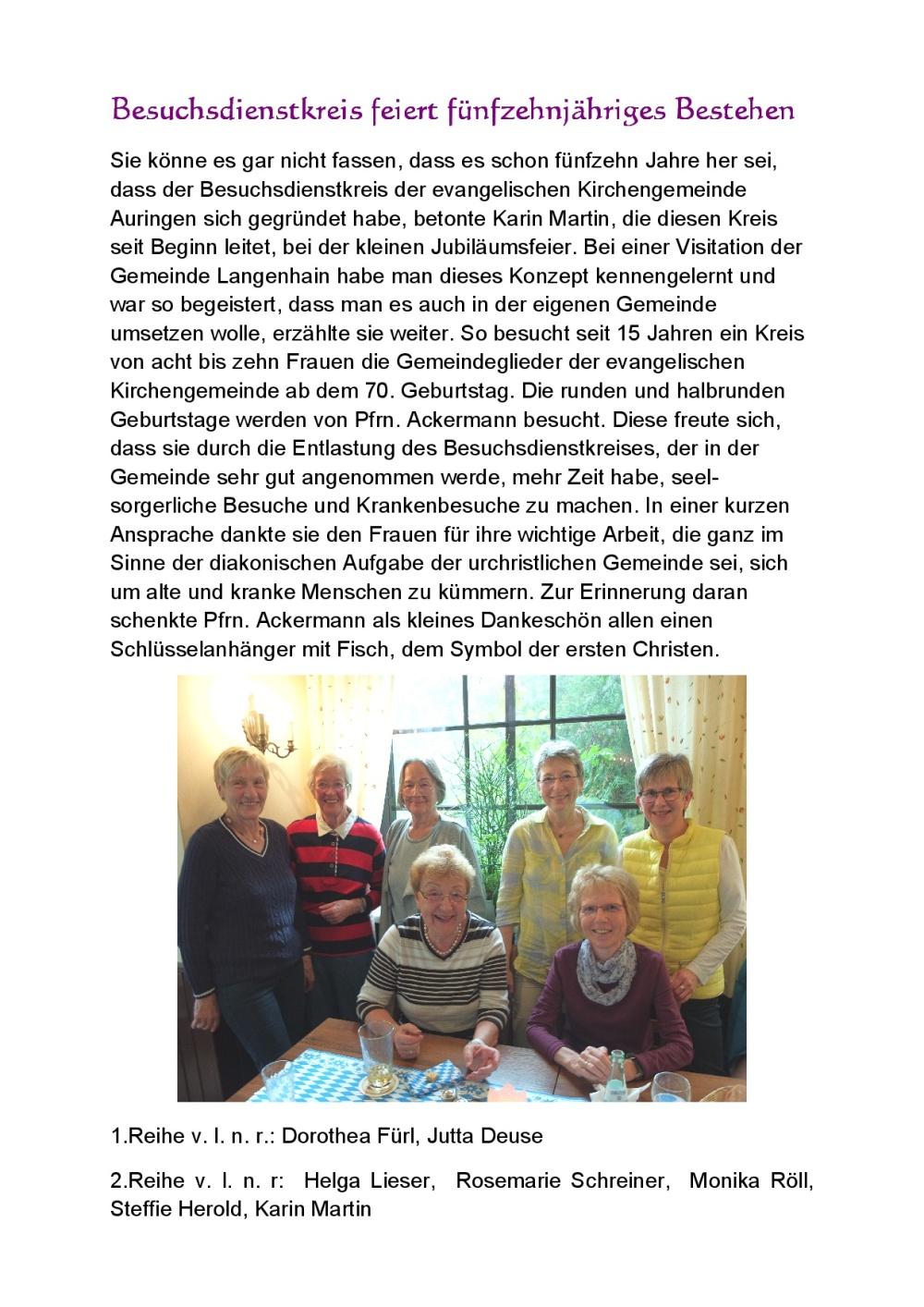2015-09-25 15jähriges Bestehen Besuchsdienstkreis-001