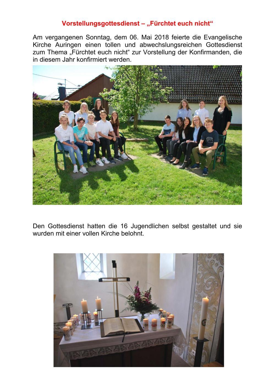 2018-05-06 vorstellungsgottesdienst