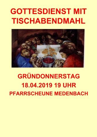 2019-04-18 Plakat Tischabendmahl01