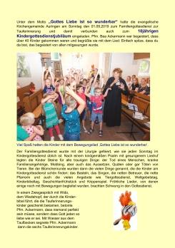 2019-09-01 Fam.gd. Tauferinnerung und 10 Jahre Kigo01