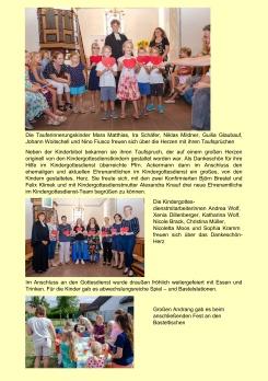 2019-09-01 Fam.gd. Tauferinnerung und 10 Jahre Kigo02
